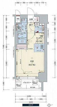 マンション(建物一部)-大阪市西区立売堀5丁目 間取り
