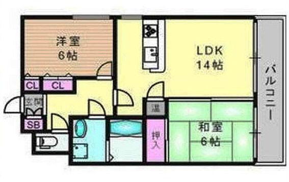 マンション(建物一部)-大阪市中央区松屋町 間取り