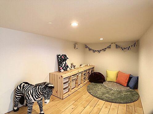 中古一戸建て-名古屋市中川区野田2丁目 ロフト下の小さなお部屋。お子様の遊び場、収納として季節の物をしまっておくのにもおすすめです