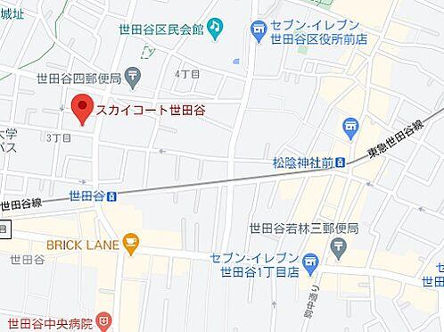 マンション(建物一部)-世田谷区世田谷3丁目 地図
