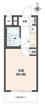 マンション(建物一部)-京都市中京区冷泉町 シンプルな単身者向けの物件