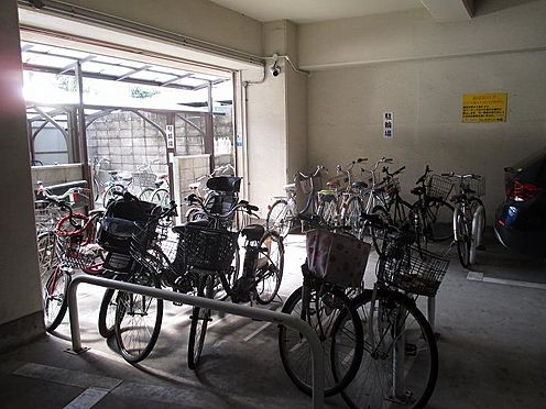 中古マンション-大阪市東成区大今里西2丁目 駐輪場