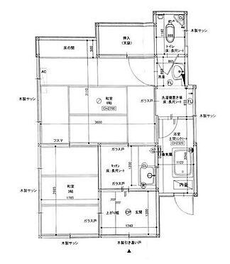 アパート-横浜市南区三春台 間取り