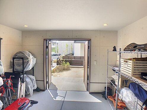 戸建賃貸-額田郡幸田町大字坂崎字石ノ塔 キャンプ道具、自転車、スノーボード用具等たくさん収納ができます(^^♪