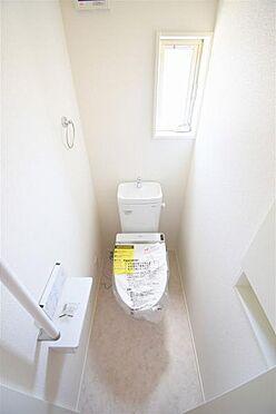 新築一戸建て-仙台市宮城野区苦竹1丁目 トイレ