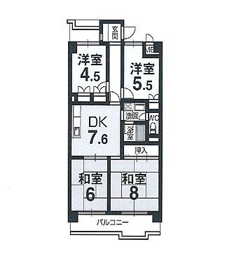 マンション(建物一部)-京都市南区久世中久町 間取り