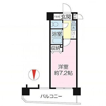 区分マンション-神戸市中央区琴ノ緒町2丁目 間取り