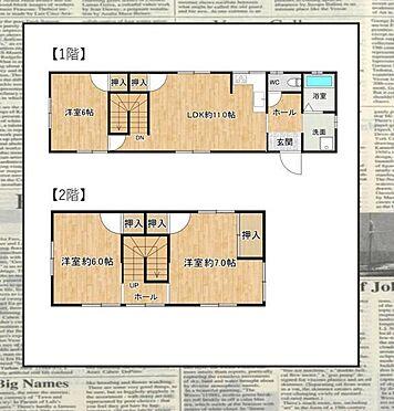 戸建賃貸-名古屋市南区松池町2丁目 全居室6帖以上、収納スペース豊富な間取りです!