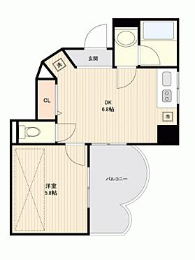 中古マンション-港区三田5丁目 間取り