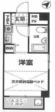 マンション(建物一部)-横浜市神奈川区神奈川2丁目 間取り