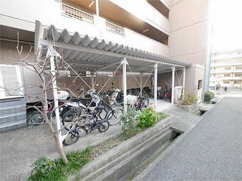 マンション(建物一部)-神戸市須磨区白川台3丁目 駐輪スペースには屋根付き