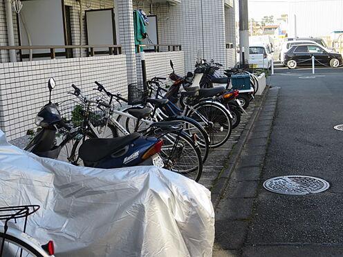 中古マンション-相模原市南区相模大野6丁目 駐輪場・バイク置き場(共に使用料が無償です)