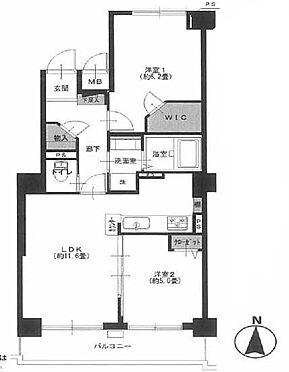 マンション(建物一部)-横浜市神奈川区神之木町 間取り