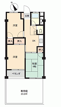 マンション(建物一部)-横浜市金沢区洲崎町 間取り