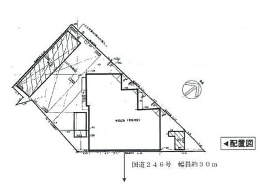 店舗(建物全部)-町田市鶴間4丁目 区画図