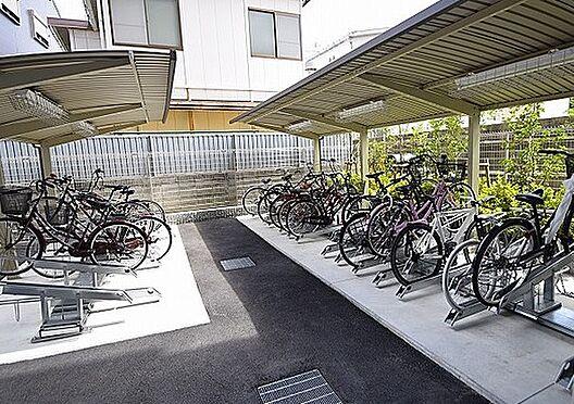 区分マンション-大阪市北区長柄東3丁目 屋根付き駐輪場