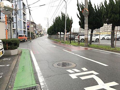 中古マンション-福岡市東区箱崎7丁目 前面道路です。