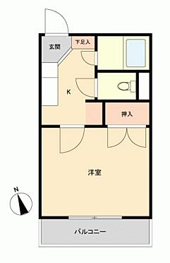 マンション(建物一部)-福岡市東区箱崎4丁目 間取り