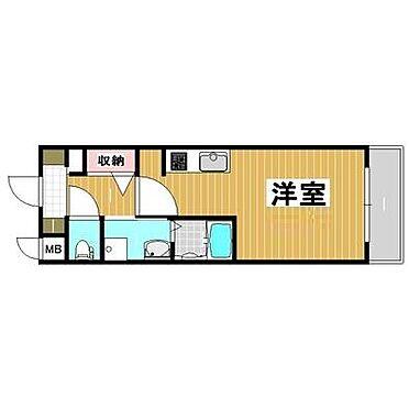 マンション(建物一部)-神戸市灘区鹿ノ下通3丁目 ひとり暮らしに使い勝手がいい間取り