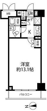中古マンション-新宿区新宿5丁目 間取り