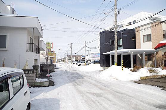 マンション(建物全部)-札幌市南区澄川四条7丁目 前面道路