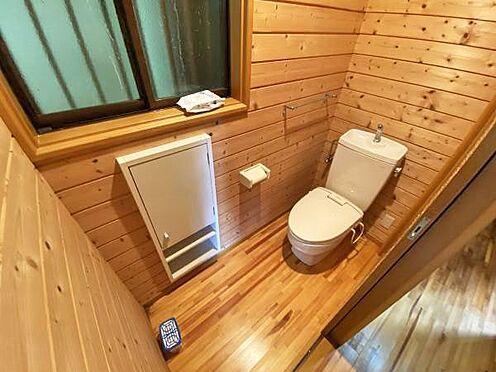 中古一戸建て-伊東市宇佐美 ≪トイレ≫ 1階のトイレ。