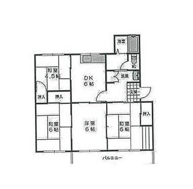 マンション(建物一部)-神戸市須磨区白川台2丁目 間取り