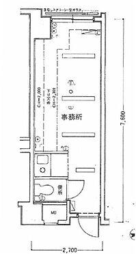 中古マンション-新宿区戸山1丁目 間取り