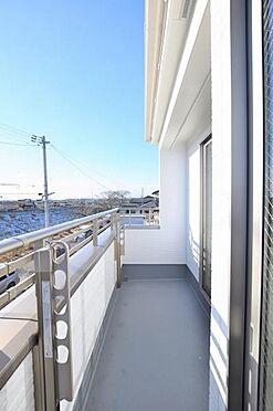 新築一戸建て-仙台市宮城野区白鳥2丁目 バルコニー
