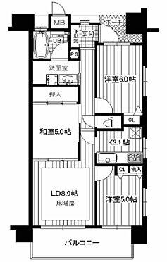 区分マンション-尼崎市昭和南通8丁目 間取り