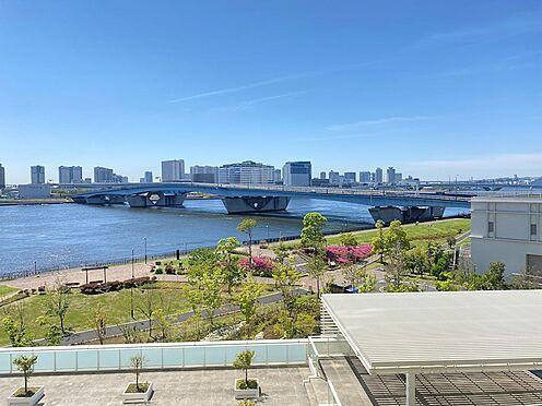 中古マンション-中央区晴海2丁目 晴海運河を眼下に望む眺望