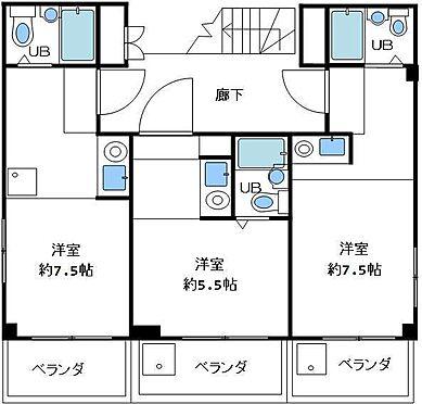 アパート-神戸市兵庫区菊水町9丁目 間取り