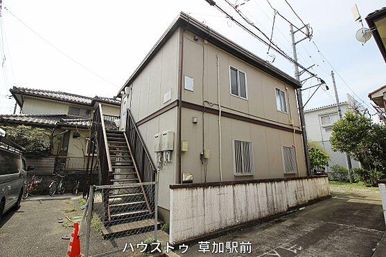 店舗・事務所・その他-川越市宮元町 1棟売りも2棟まとめても販売している中古アパートです!売地としても販売中!