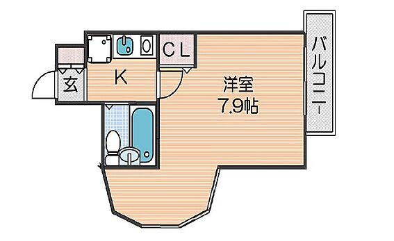 区分マンション-大阪市住吉区墨江4丁目 図面より現況を優先します。