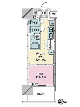中古マンション-台東区日本堤2丁目 間取り