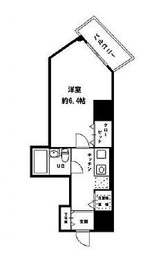 区分マンション-大阪市北区浮田1丁目 間取り