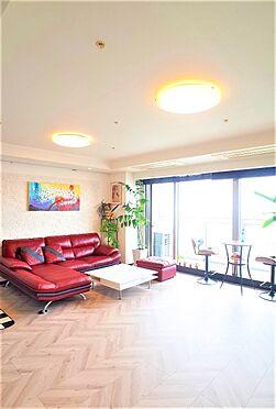 中古マンション-江東区東雲1丁目 天井高約2.6m、床暖房つき