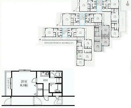 マンション(建物全部)-練馬区関町南3丁目 間取り