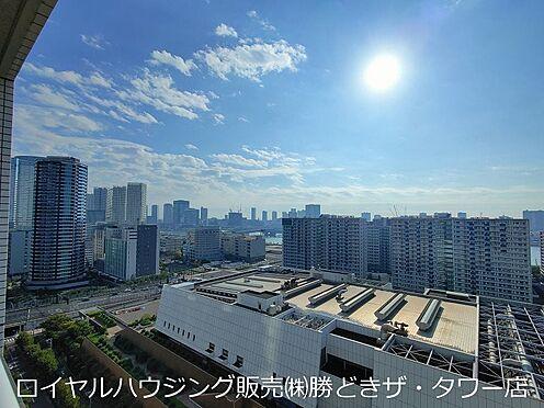 中古マンション-中央区晴海5丁目 20階建て20階部分、南東方面を望む眺望写真です。