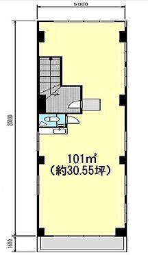 ビル(建物全部)-我孫子市本町2丁目 3階 間取り図