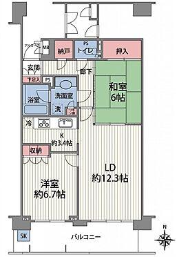 マンション(建物一部)-大阪市城東区関目3丁目 間取り