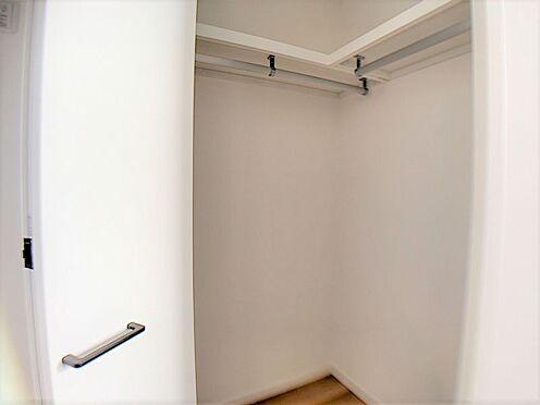 新築一戸建て-名古屋市守山区小幡北 全居室に収納を完備しており、綺麗な室内を保てます。