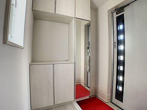 新築一戸建て-名古屋市守山区新守山 収納が充実した玄関