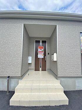新築一戸建て-奥州市水沢字桜屋敷 玄関