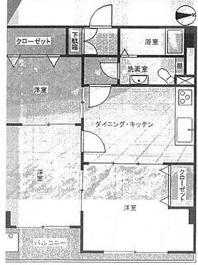 中古マンション-中野区東中野5丁目 間取り