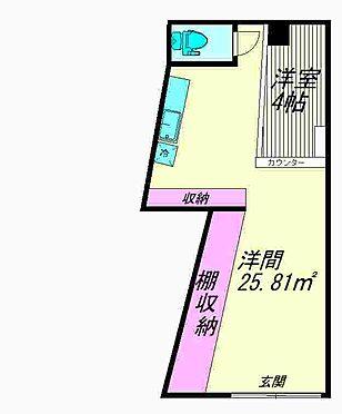 店舗(建物一部)-大田区山王3丁目 間取り