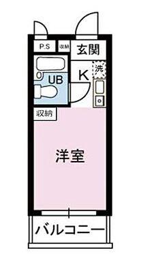 マンション(建物一部)-横浜市港北区大倉山4丁目 間取り