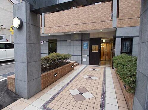 区分マンション-大阪市中央区石町2丁目 お洒落なアプローチ
