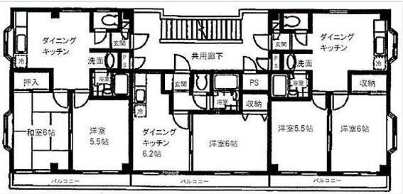 マンション(建物全部)-佐倉市王子台2丁目 間取り