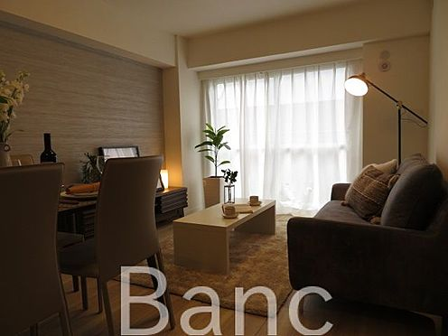 中古マンション-渋谷区本町3丁目 ゆったりくつろげるリビングルームです。